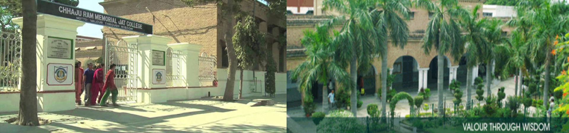 Welcome to Chhaju Ram Memorial Jat College